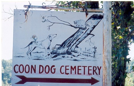 Coon Dog Cemetery In Sweet Home Alabama